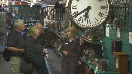 Guided Tours of Claphams Clock Museum Whangarei
