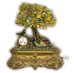 A Blaise Bontems Singing Birds Automation Clock