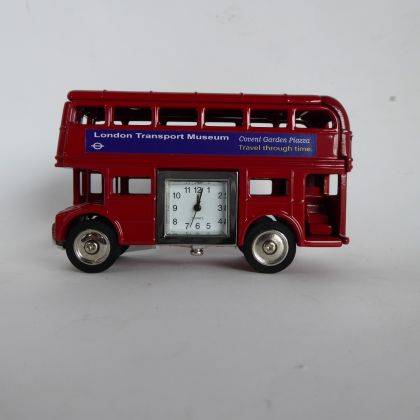 Novelty London Bus Clock