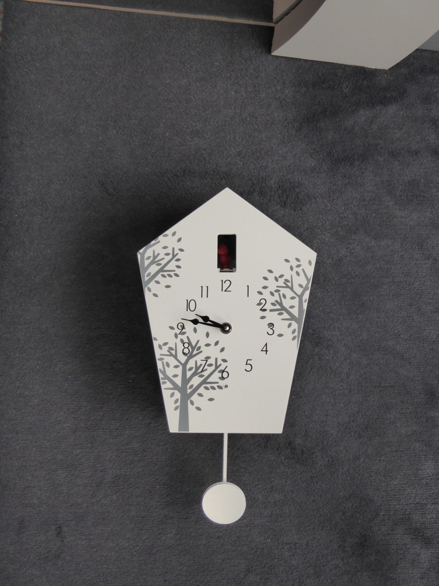 Modern Cuckoo Clock With Tree Design